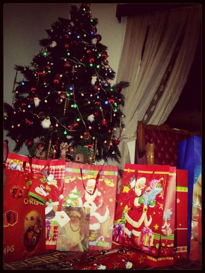 Christmastree Gifts Under The Tree Merry Christmas!