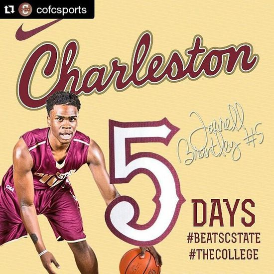 Can't wait for Friday night!!! GoCOUGS Restoretheroar Repost @cofcsports with @repostapp ・・・ 5 Days Until New Season & New Uniform Drops! Meet Jarrell Brantley https://t.co/0mxYvPaIia BeatSCState TheCollege
