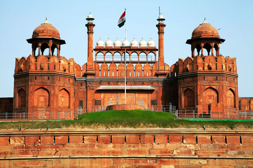 Architecture India New Delhi Red Fort Street Streetphotography Tourism Travel
