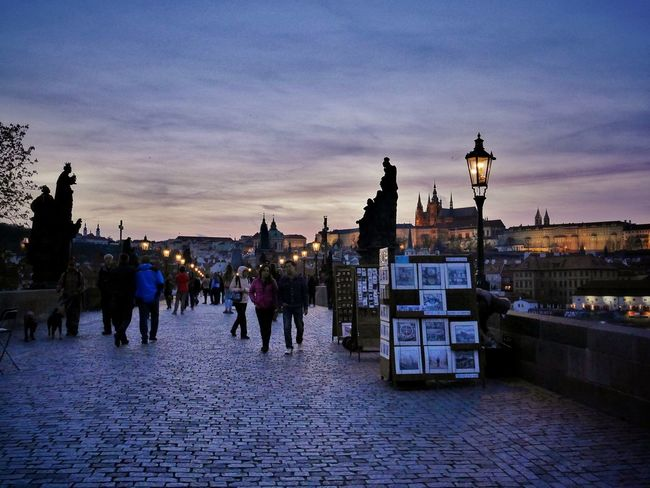 MagicPrague Prague Charles Bridge Prague At Night Prague Czech Republic The Street Photographer - 2016 EyeEm Awards
