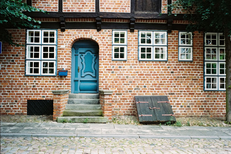 Ancient door,