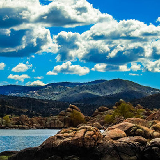 Mountain Rock - Object Blue Nature Sky No People Landscape Cloud - Sky Mountain Range Pine Tree Pinaceae Scenics Outdoors Winter Beach Beauty In Nature Tree Day