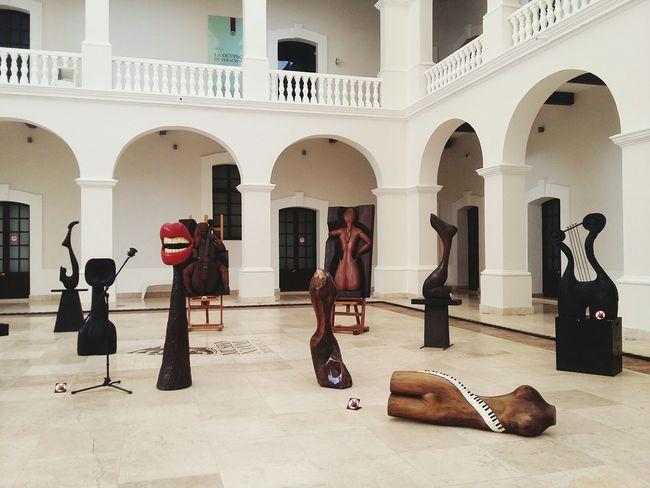 Arch Arts Culture And Entertainment Architecture Day Photography Veracruz, México No People Art Tourism Museum