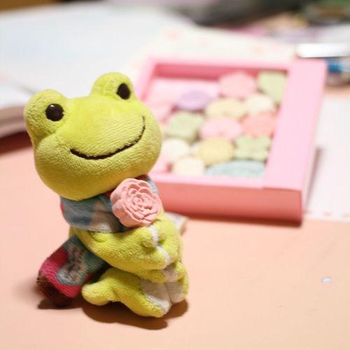 お干菓子 干菓子 かえるのピクルス Japanesesweets Picklesthefrog