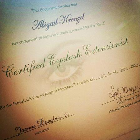 Evolution of a lash ninja. First certification with Novalash . Backwhen Eyelashextensions Lashninja lashlife simplebeauty memories