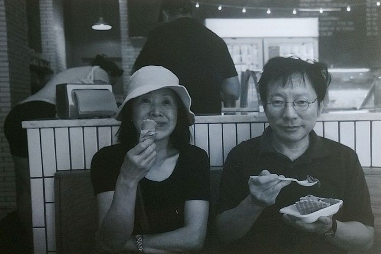 Mom and dad Summer2017 Film No Filter Black And White Film Photography Mom Dad The Week On EyeEm Black And White Friday