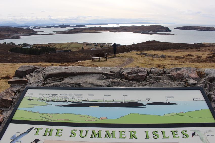 Always summer here..... Hiking Scotland Summer Isles Islands Coastline Water Text Sea Nature No People Day Communication Beach Tranquil Scene Tranquility