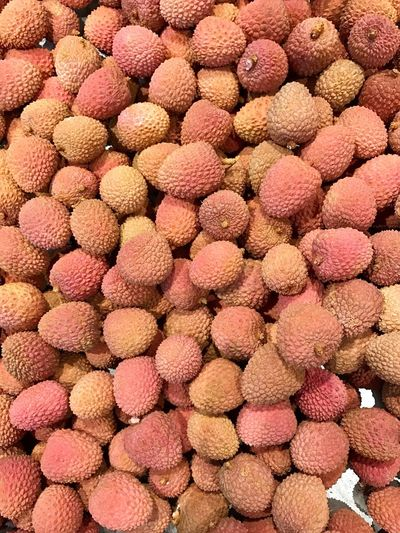 Freshness No People Full Frame Backgrounds Food Close-up Nature Day Outdoors Litschi Lychee Lychees Wallpaper Background Hintergrundgestaltung