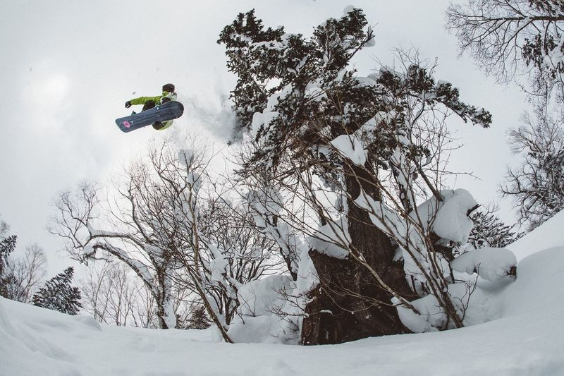 Japan Series Hokkaido > Moving away from the city life of Tokyo and into the mountains of the North Island > The snow quality and levels up north are incredible, and so is the terrain for Snowboarding > It's worth the visit everytime, I love Japan winter > Blotto Rider: Kimmy Fasani