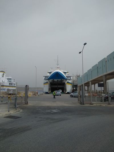 Bad Weather Cirkewwa Ferry Terminal Ferry Malta Transportation Winter Architecture Cirkewwa Day Ship Sky