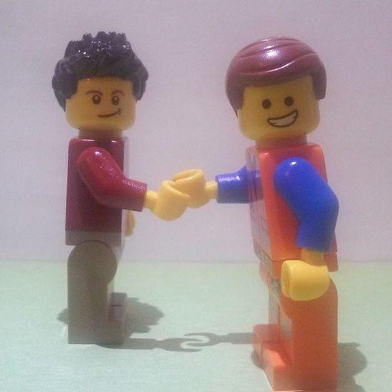 Farewell to an amazing lego account...you'll always be remembered ?LEGO Emmet Friend Gone farewellseeyaawesomefollowlikememoriesfantastic