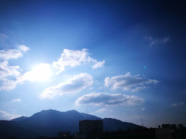 Blue Sky Cloud - Sky Sunshine ☀