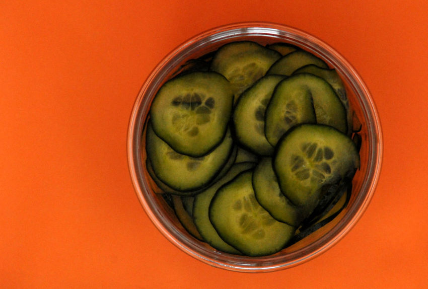 Close-up Cucumber Food Food And Drink Freshness Green Color Healthy Eating Indoors  No People Orange Color Ready-to-eat Studio Shot Vegan Vegetables Vegetarian Food