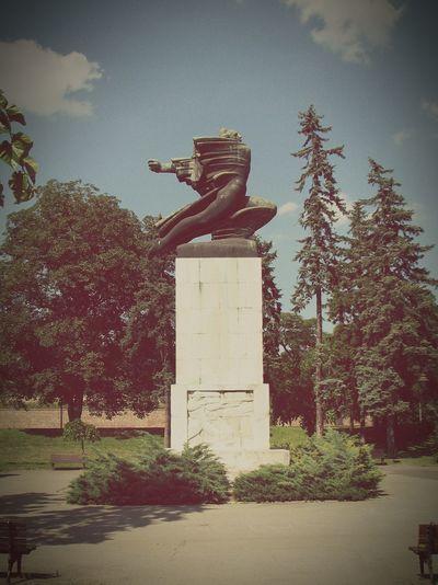 Sculpture City Park Kalemegdan  Belgrade Mestrovic Outdoors Taking Photos Check This Out Ivan Mestrovic Memorial Of Gratitude To France La Reconnaissance à La France Wwi