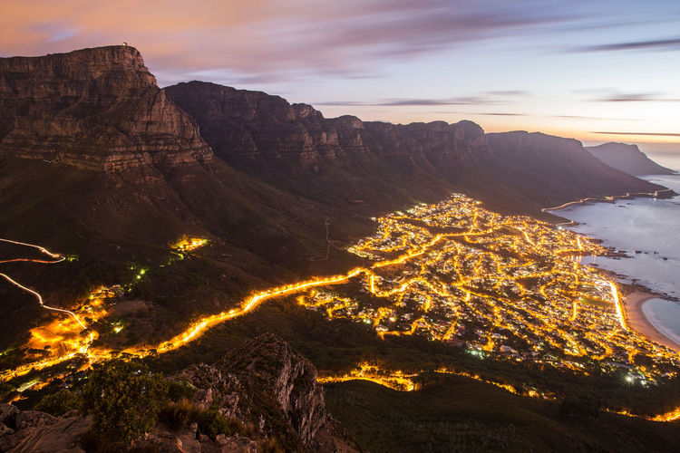 Cape Town Cape Town, South Africa Lion's Head Long Exposure Mountain South Africa Sunset Table Mountain Travel Destinations Travel Photography