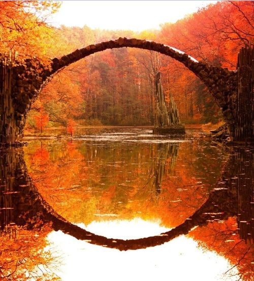 Reflection Orange Color Autumn Symmetry Water Tree Change Scenics Tranquility Lake Nature Standing Water Red Outdoors Sky Beauty In Nature No People Mountain Landscape Day