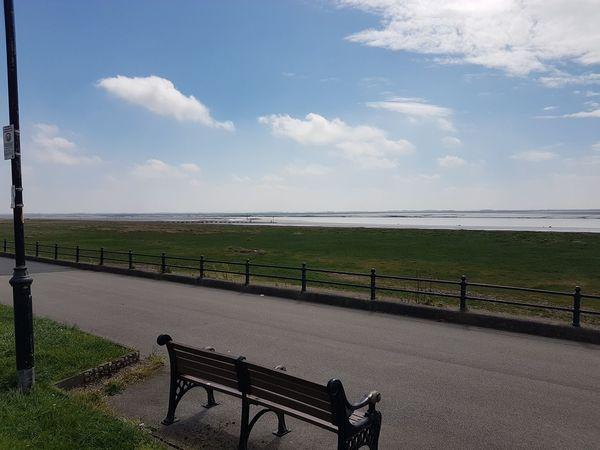 So peaceful Water Sea Rural Scene Sky Cloud - Sky