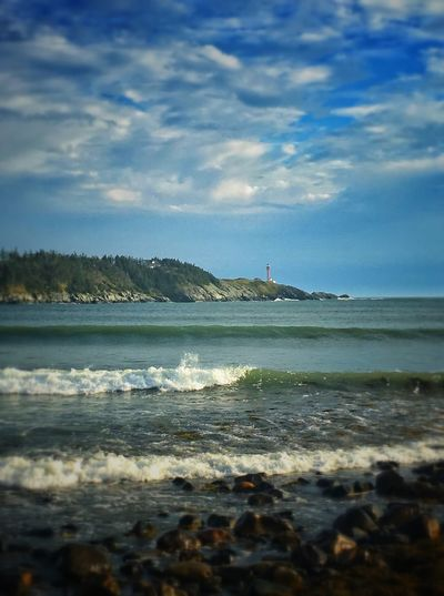 Sea Water Sky Cloud - Sky Beach Nature Wave Scenics Beauty In Nature Horizon Over Water Day Tranquility Tranquil Scene Outdoors No People Sport