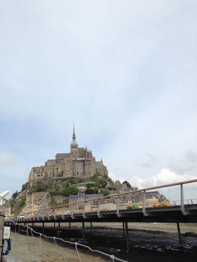 Architecture Day Mont Saint-Michel Outdoors