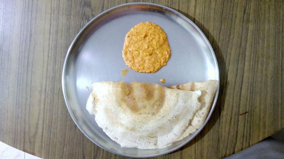 My Favorite Breakfast Moment Breakfast South Indian Food Dosa Dosai Incredible India Sada Dosai Chutney Homemade