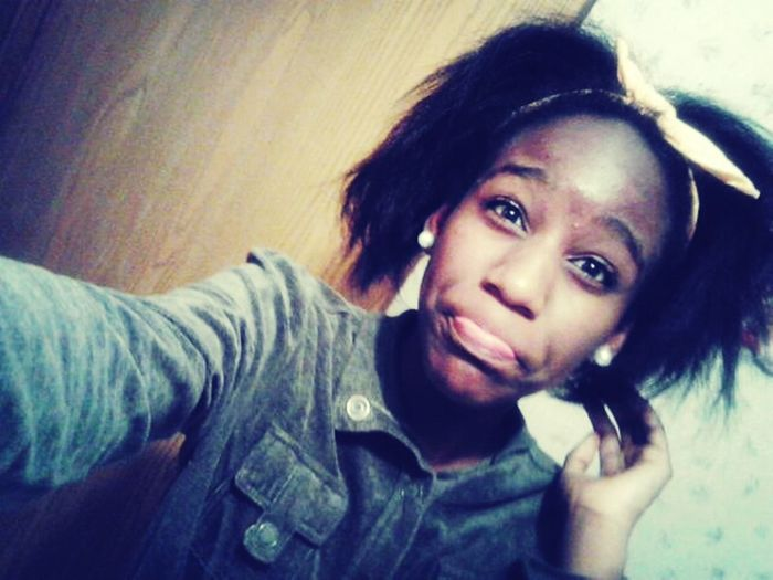 My Hair Was A Mess After School ^_^