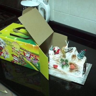 Christmas Logcake