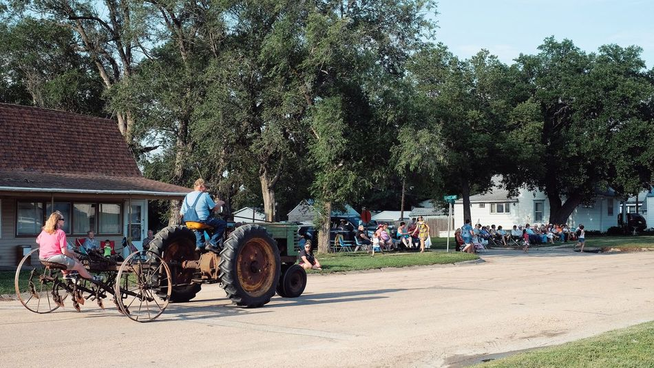 Parade 2016 Old Settlers Picnic Village of Western, Nebraska A Day In The Life Cart Celebration Community Land Vehicle Lifestyles Main Street USA Mode Of Transport Old Settlers Picnic Outdoors Parade Photo Essay Rural America Rural Scene Small Town Life Small Town USA Storytelling Western Nebraska
