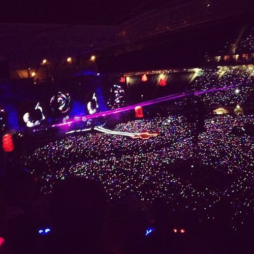 40.000 Lichter. Coldplay.