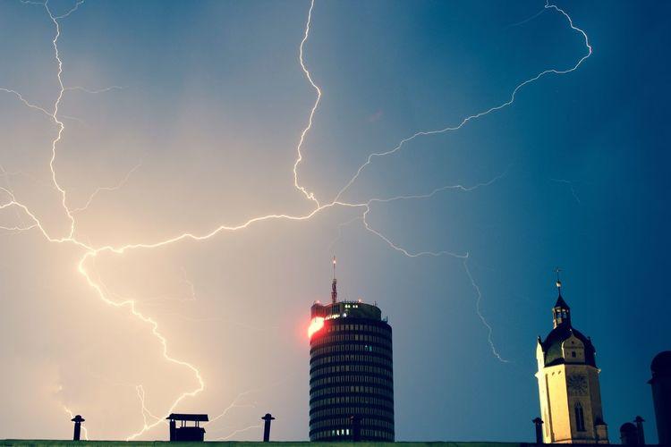 Jena Blitz Gewitter Thunderstorm