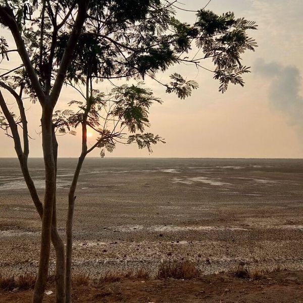 Orange Sky Sidoarjo Mud Disaster Morning Walk Sunrisephotography