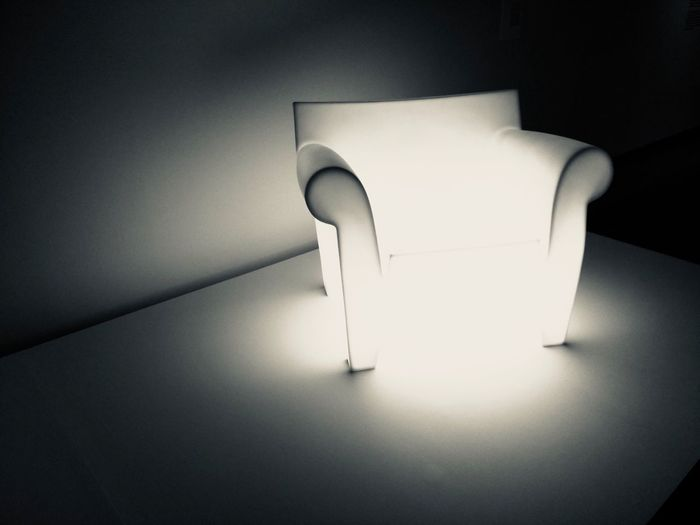 Chair Vancouver Mashup Vancouver Art Gallery Exhibition Shadows & Lights Illuminated No People Indoors  Art