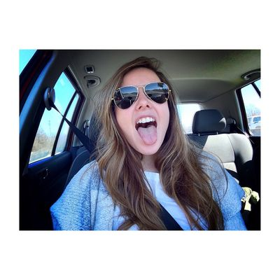 Road trips are the best! Selfie Fun On The Road Vscocam Rayban Sunshine Faces Of EyeEm OpenEdit Selfportrait Happy