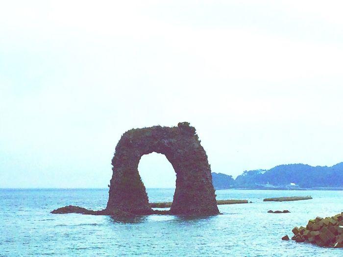 Seaside Okushiri Island By The Sea Rock Island