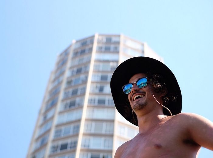 Urban exploration interrupted by swimming. Not so bad. 👌 Capetown Portrait South Africa