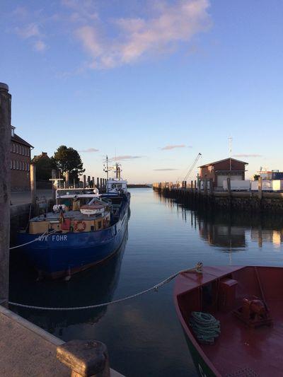 Ship Water Blue