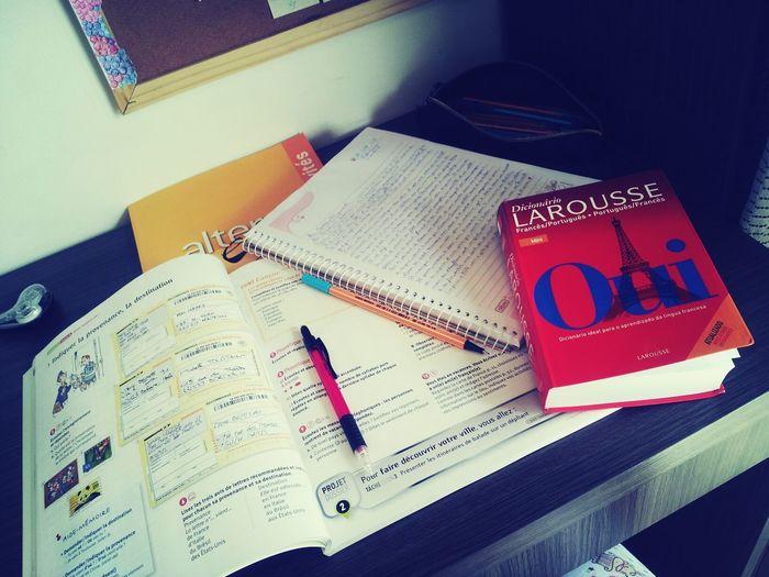 domingo é dia de francês :)