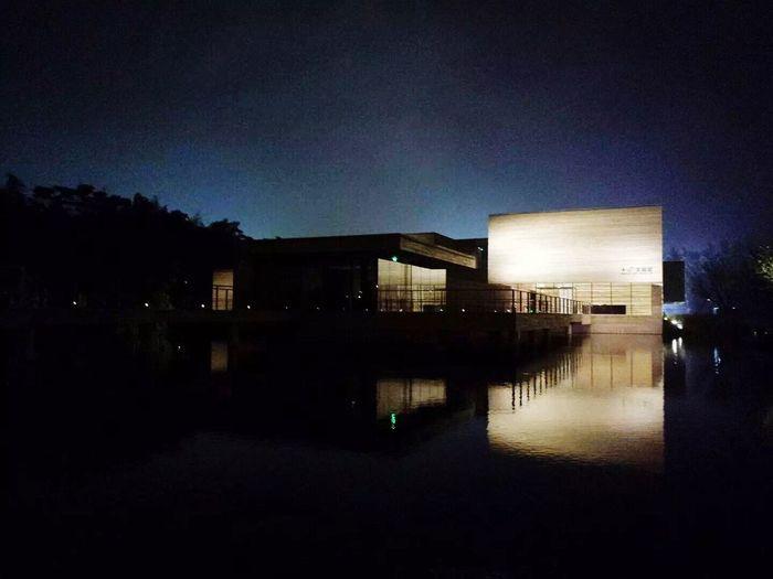 Muxin Art Museum , Wuzhen First Eyeem Photo Travel Architecture Night View MuXi Art Museum Wuzhen