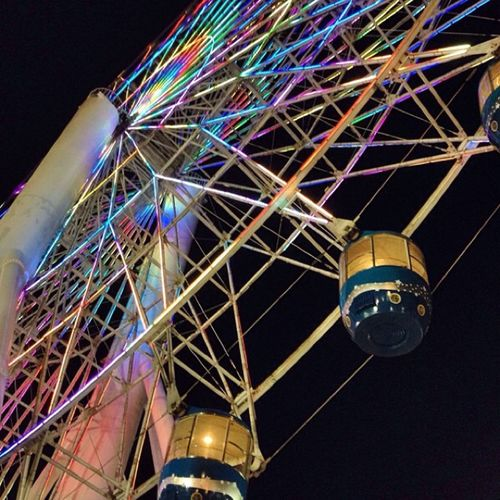 Treat life like a ferris wheel ride.. You must get past the fear to enjoy the view. -Linda Poindexter Kidatheart