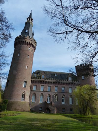 Architecture Building Exterior Built Structure Tower Castle No People Day Sky Outdoors Tree City Germany 3XSPUnity Schloss Moyland Eyemphotography EyeEm Best Shots Landscape Schloss Architecture_collection Building Architecture Royal EyeEm Gallery Eye4photography  Eyem Gallery