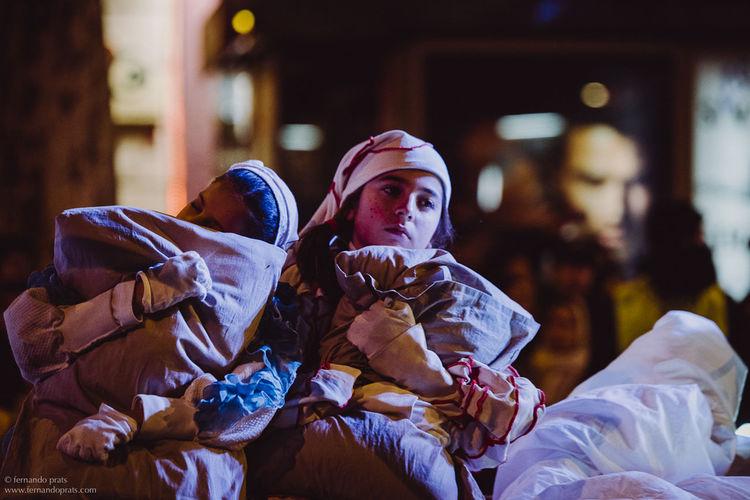 Children Street Photography Sleep Time Barcelona