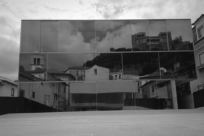 Urban Reflections Arquitecture Castle Shades Of Grey Reflection_collection DarkDay Eyem Portugal