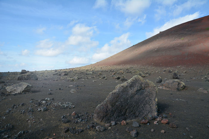 Life on Mars? Out of curiosity... Barren Beauty In Nature Black Rocks Black Sand Canary Islands First Eyeem Photo Geology Landscape Lanzerote Life On Mars Mars Mars Exploration Martian  Mountain Mystical Nature_collection Outer Limits Outlandish Sky Volcanic Landscape Wanderlust