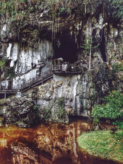 Beauty In Nature Cave Outdoors Borneo Nature Travel No People
