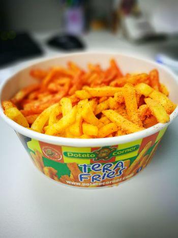 Oh! TERA FRIES! Potatocorner Foodphotography Cebu City, Philippines P9photography