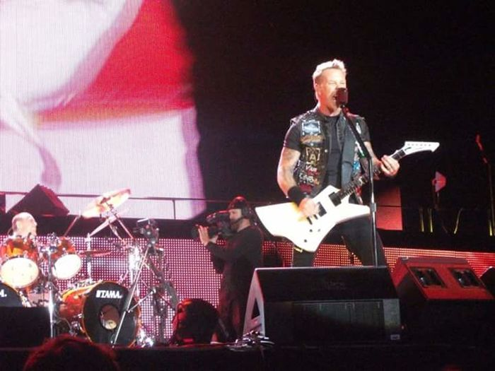 Metallica! James Hetfield Warsaw Sonisphere Bemowo 2012