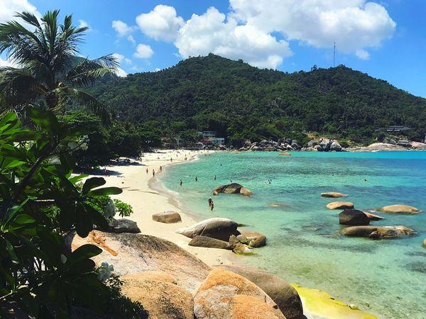 Beauty In Nature Beautiful Beach Thailand Crystal Bay Sea
