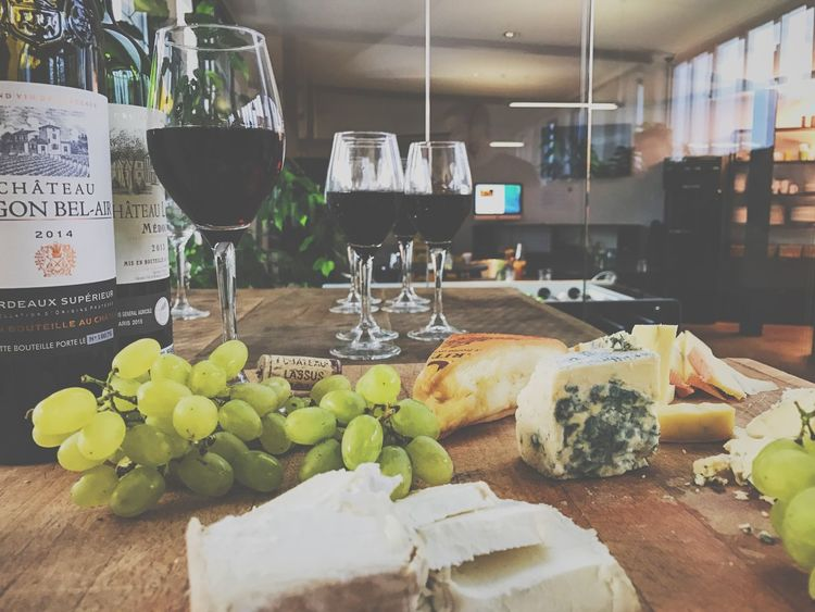 Cheese Close-up Day Faded Food Food And Drink France Freshness G Goodlife Grapes Healthy Eating Indoors  Italy Kith Manufacturing Equipment No People TAB Table Water Wine