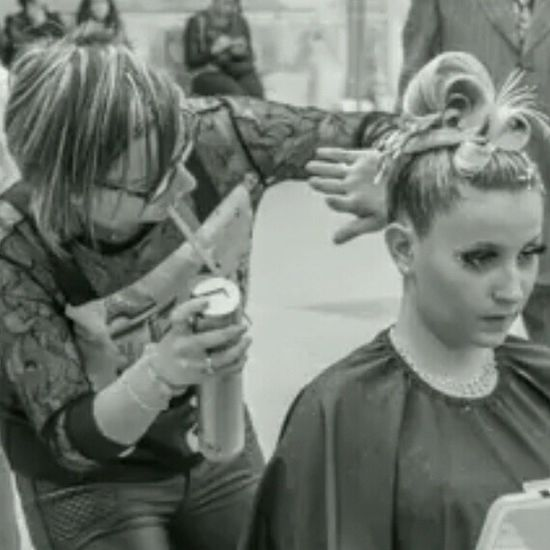 Chignon  Sista Blonde Hair Marie