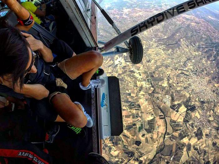 A Bird's Eye View Gopro Italy Sardinia Skydiving Sky Blusky Tandemskydive Paracadutismo Love Lovelife Speed Horizon Amazing Me