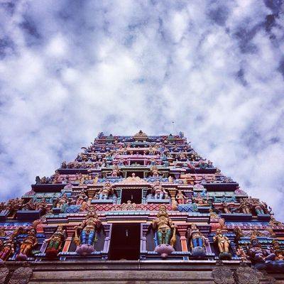Travel Temple God Beauty Art Maruthamalai Bakthi Murugantemple Pastel Power Blue Wave